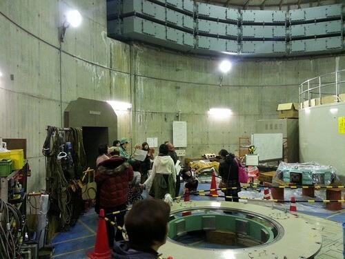 平山発電所 地下