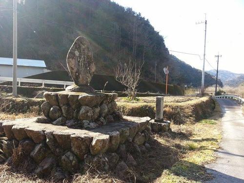 平山の風景 梅畑