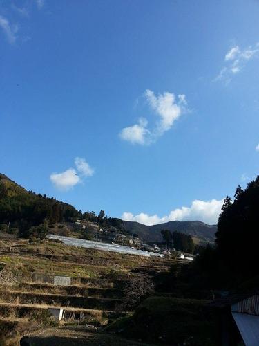 平山の風景 平山のマチュピチュ