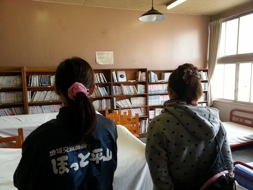 みどりの時計台 旧川口小学校 教室