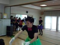 清原ゼミの学生さんたちによる楽しい歌&ダンス
