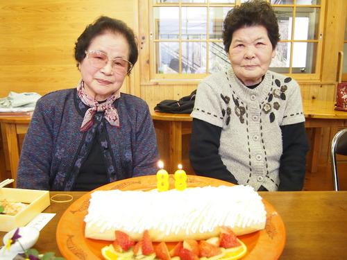 朝倉のおばちゃん、福ちゃんおめでとうございます