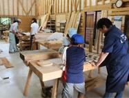 木工教室の写真