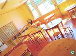 食堂(旧1・2年生教室)