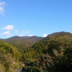 平山の風景